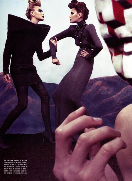 Стивен Кляйн (Steven Klein) дляVogue 9. Изображение № 6.