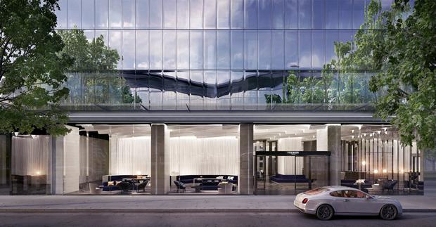 Бюро представило вдохновлённый клипом Бейонсе небоскрёб. Изображение № 7.