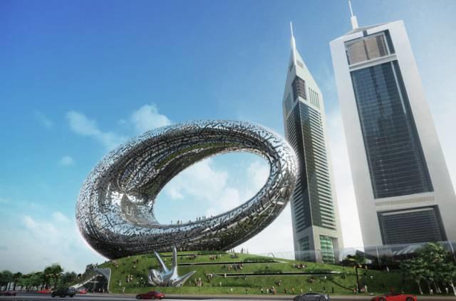 В Дубае показали проект Музея будущего. Изображение № 2.