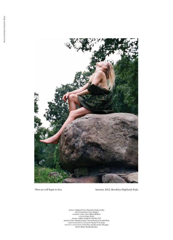 Стоп-кадр: Новые съемки Love, Russh, Vogue и V. Изображение № 55.