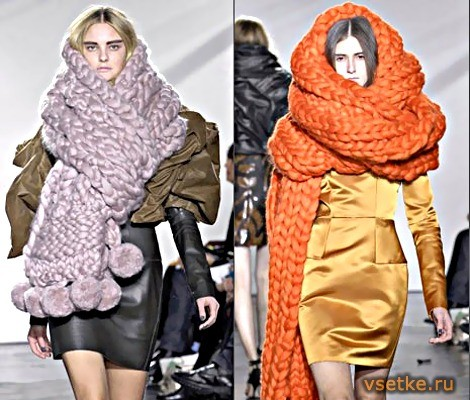 Завязать шарф???. Изображение № 2.