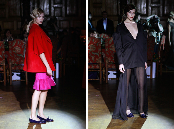 Изображение 1. Vardoui Nazarian FW 2011: прозрачные юбки и пушистые майки.. Изображение № 1.