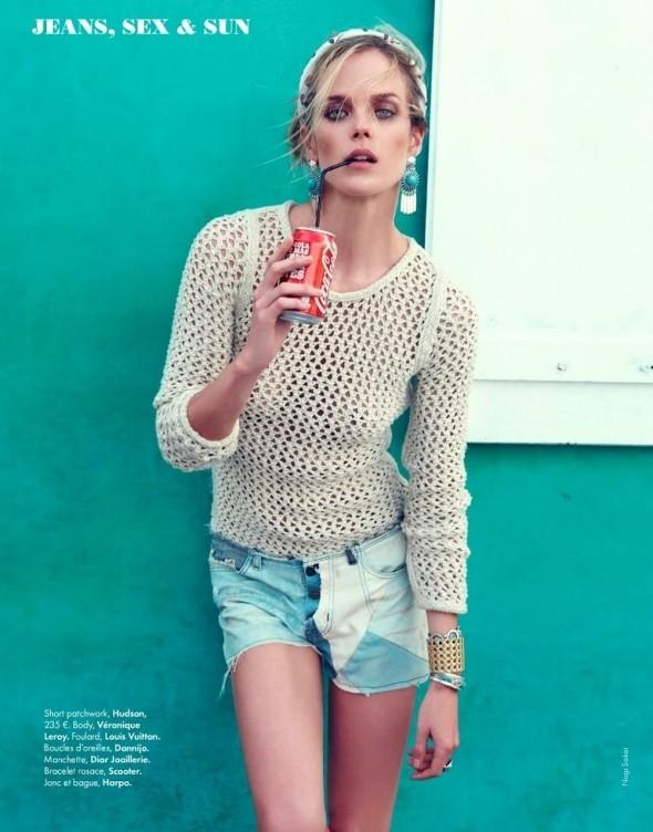 Съемки: Vogue, Elle, Tush и другие. Изображение № 48.