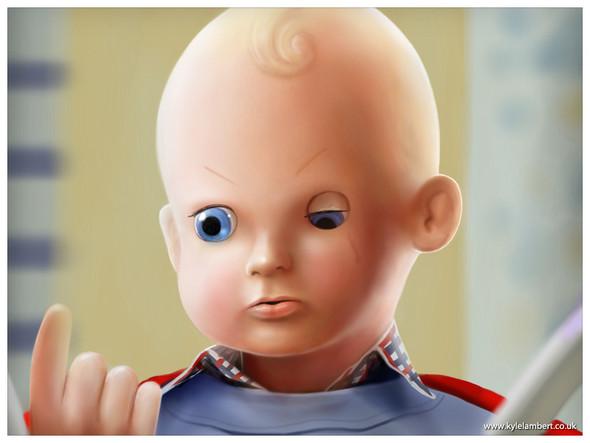 «История игрушек» в «Сиянии» Стенли Кубрика. Изображение № 10.