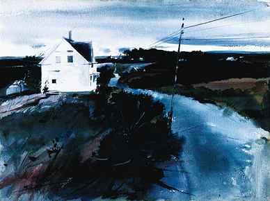 Andrew Wyeth- живопись длясозерцания иразмышления. Изображение № 27.