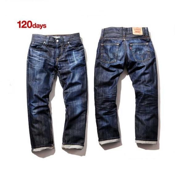 Levis: Imprint. «Быстро стареющие» джинсы Levis. Изображение № 5.