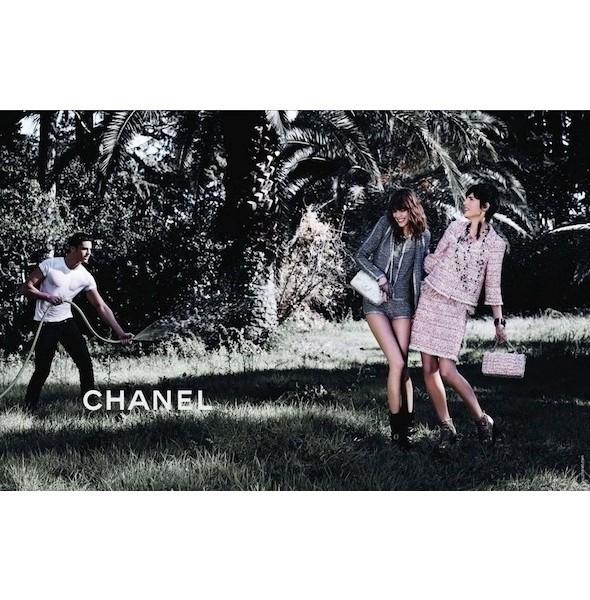 Изображение 10. Рекламные кампании: Chanel, Donna Karan, Stella McCartney и другие.. Изображение № 10.