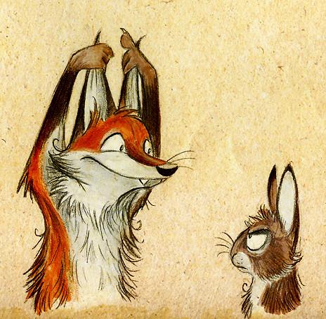 Забавные иллюстрации из жизни лисиц от Skia. Изображение № 10.