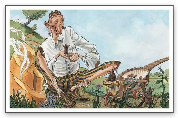 Watercolor humour. Изображение № 10.