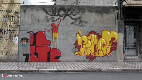 Граффити художники Os Gmeos о творческом пути. Изображение № 35.