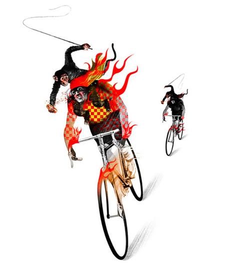 Юношеский Сюрреализм – Иллюстрации Брэтта Райдера. Изображение № 19.