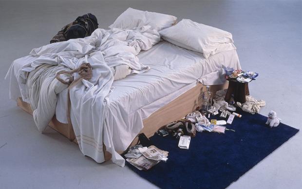 My Bed, Tracey Emin, 1998. Изображение № 10.