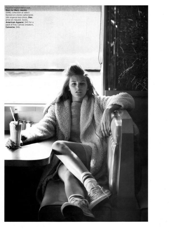 Съёмка: Али Стивенс для Elle. Изображение № 3.