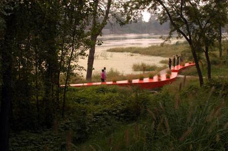 RedRibbon великая китайская скамья. Изображение № 5.
