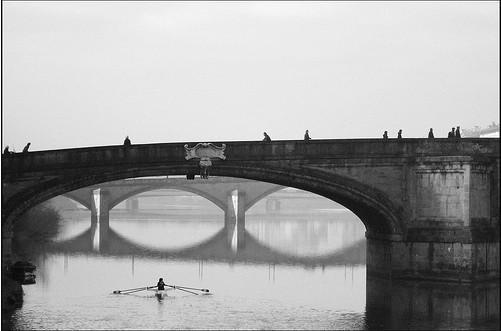 20 черно-белых фотографий мостов совсего мира. Изображение № 11.