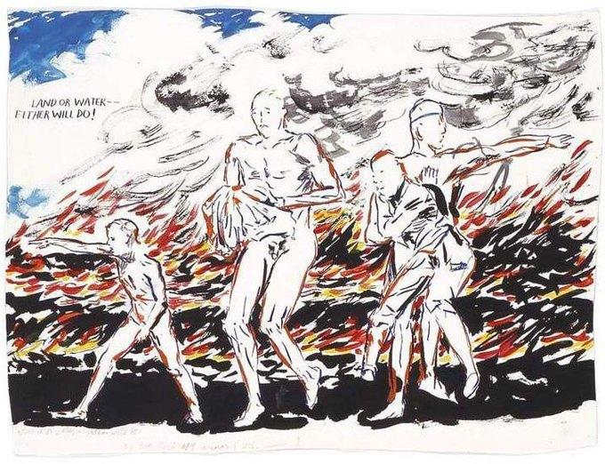 27 работ, за которые я люблю автора обложек Black Flag и Sonic Youth. Изображение № 14.
