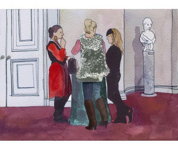 Изображение 19. Что происходит, когда иллюстратора пускают на модный показ.. Изображение № 18.