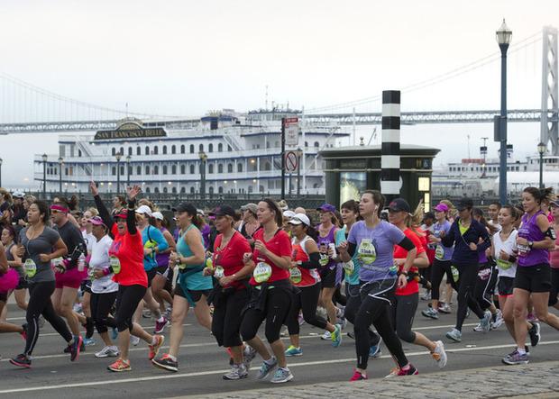 В Сан-Франциско прошел женский марафон Nike Women's Marathon 2012. Изображение № 9.