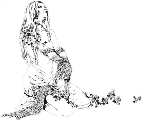 Katsuta Mako – черно-белая грация. Изображение № 19.
