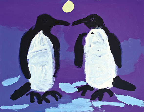 «NOVRUZ -новый день». Выставка художника Марьям Алакбарли в ММСИ. Изображение № 3.