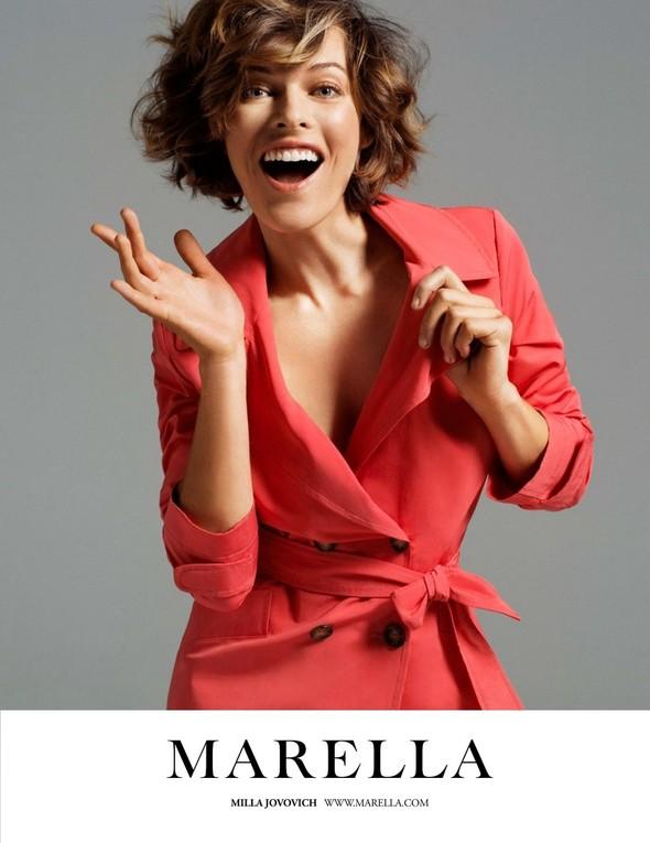 Кампания: Мила Йовович для Marella. Изображение № 1.