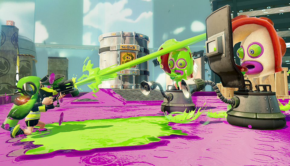 Как подростки-кальмары избавляют видеоигры от агрессии. Изображение № 5.