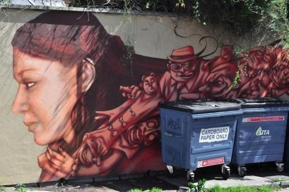 Изображение 24. Бристоль. Художественное граффити.. Изображение № 26.
