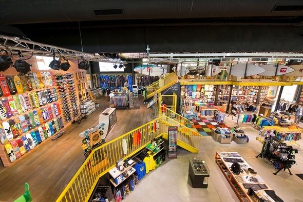 Новый магазин Quiksilver на юге Франции – Boardriders 162 Campus. Изображение № 1.