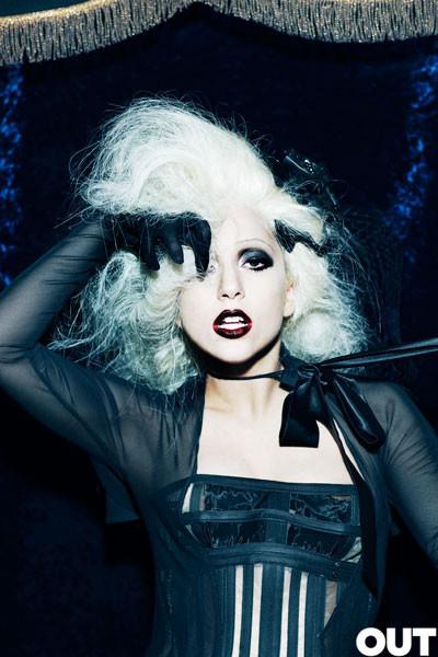 Lady Gaga дляOUT (Сентябрь 2009). Изображение № 6.