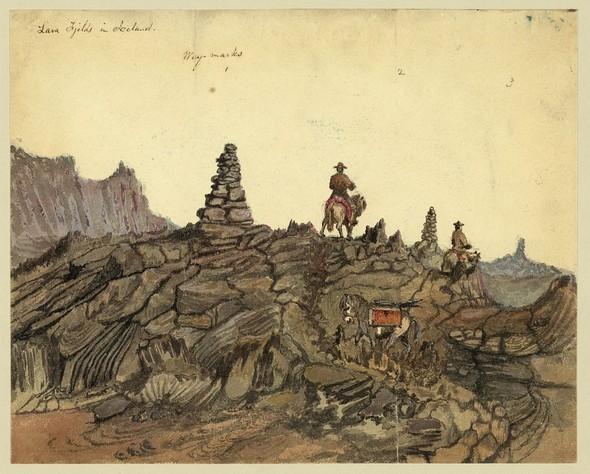 Исландия в середине XIX века: путевые рисунки американского дипломата. Изображение № 9.