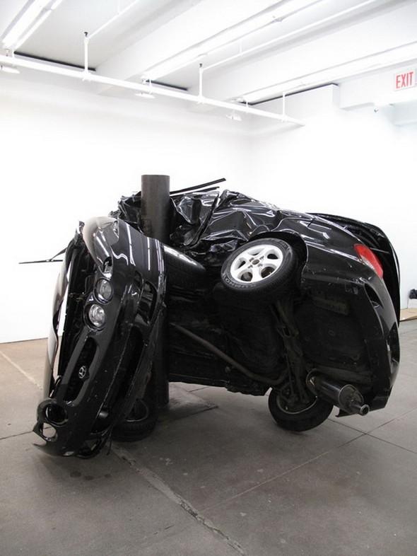 Скульптуры из разбитых машин Dirk Skreber. Изображение № 7.