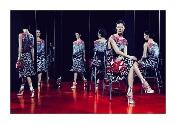 Изображение 46. Рекламные кампании: Celine, Marc Jacobs, Miu Miu и другие.. Изображение № 52.