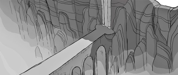 Анимация дня: фэнтезийный ролик про любовь и побег. Изображение № 30.