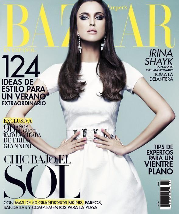 Изображение 5. Обложки: Harper's Bazaar, Marie Claire и другие.. Изображение № 3.