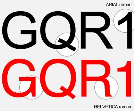 Arial vs. Helvetica. Изображение № 5.