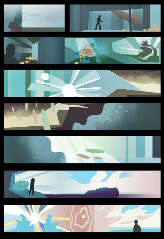 Анимация дня: японец, морской дух и груз прошлого. Изображение № 3.
