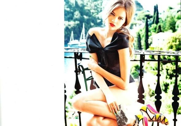 Кампания: Моника Ягачак и Эллен фон Унверт для Dior Cruise 2012. Изображение № 16.