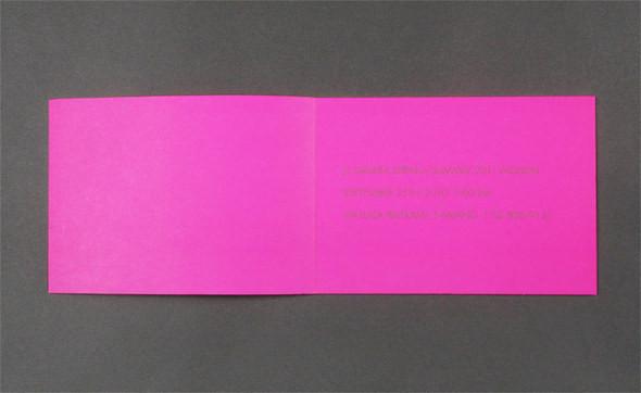 Изображение 4. Womenswear collections S/S 2011: show invitations.. Изображение № 4.