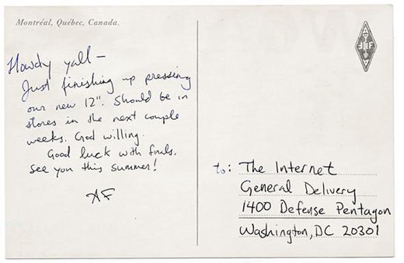 Почтовая открытка от Arcade Fire. Изображение № 2.