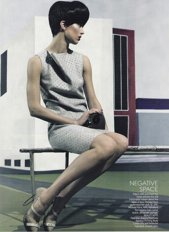 Raquel Zimmermann for US Vogue March 2010. Изображение № 2.