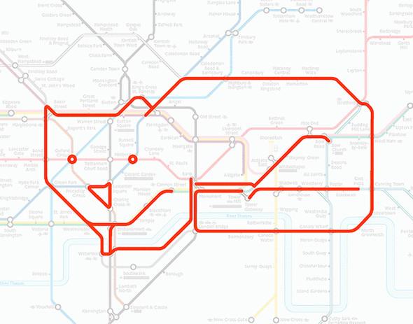 Осторожно! Звери в лондонском метро!. Изображение № 3.