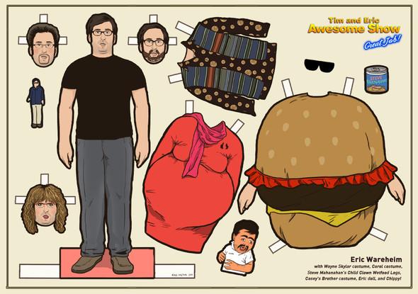 Бумажные куклы «Во все тяжкие», «Драйва» и другие. Изображение № 11.