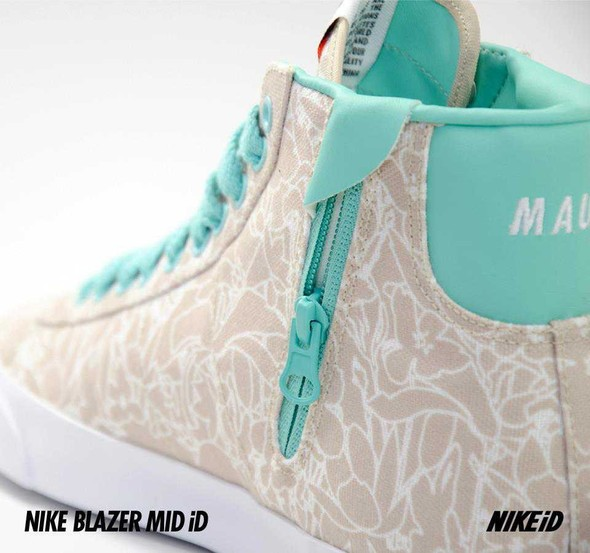 Nike X Liberty Summer Collection/  Blazer Mid iD.. Изображение № 23.