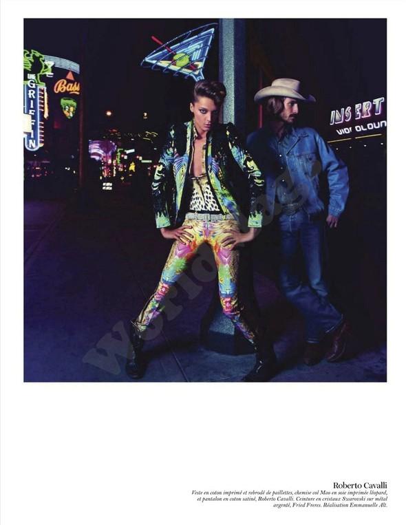 Съёмка: Дарья Вербова для французского Vogue. Изображение № 55.
