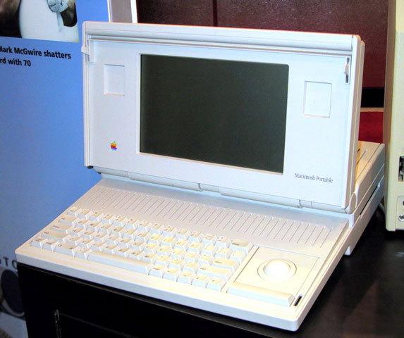 Эволюция дизайна ноутбуков apple 1989 – 2008. Изображение № 1.