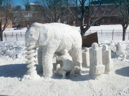 Мужичок - Снеговичек. Изображение № 13.
