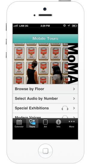 МоМА, Эрмитаж, Музей Гуггенхайма и другие музеи с полезными приложениями. Изображение № 19.