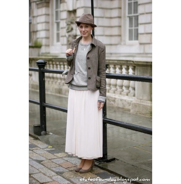 Изображение 166. На полях: 10 тенденций уличного стиля с прошедших недель моды.. Изображение № 166.