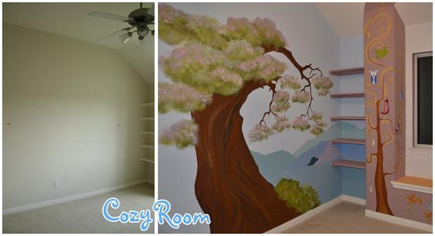 Детская комната по мотивам мультфильма «Рапунцель. Запутанная история». Изображение № 14.