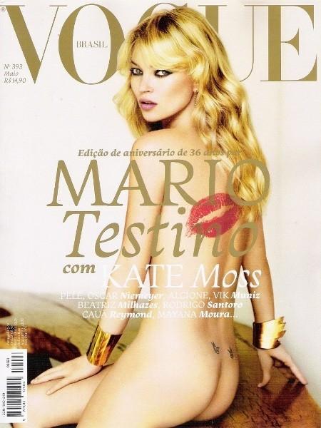 Кейт Мосс на обложках vogue. Изображение № 2.